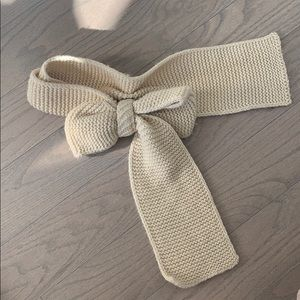 Anthropology bow scarf